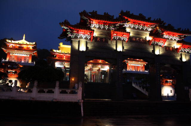 Buddhistický chrám Wenwu, Juči, Tchaj-wan