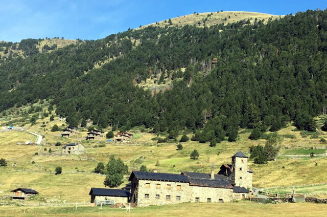 Cestou k Estany de Juclar, Andorra