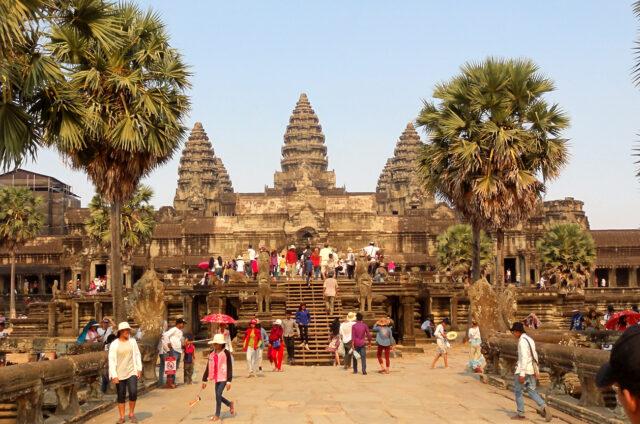 Chrám Angkor Wat, Kambodža