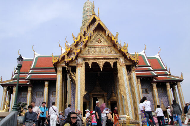 Chrám smaragdového Buddhy, Grand Palace, Bangkok, Thajsko