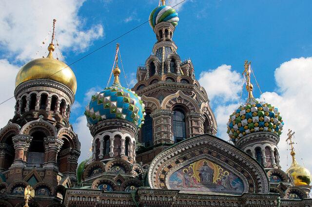 Chrám vzkříšení, Petrohrad, Rusko