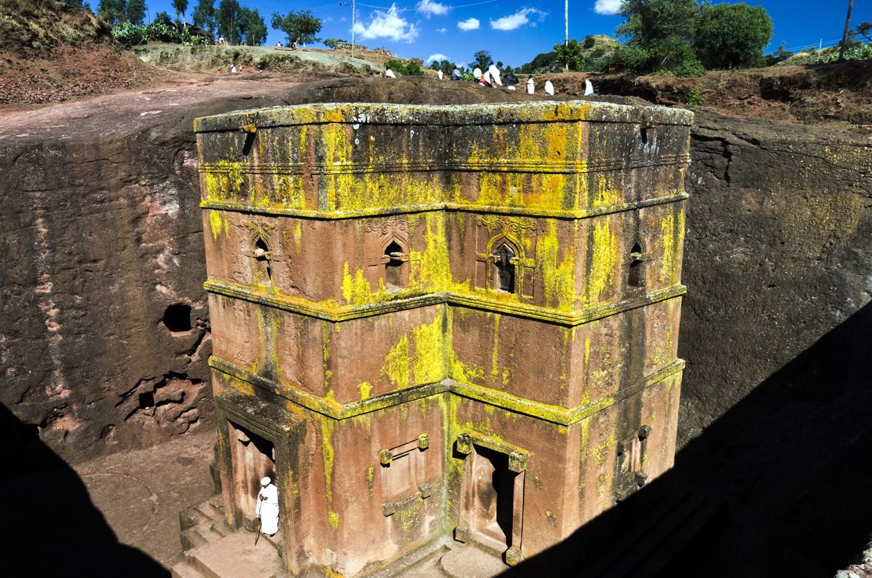 Chrámový komplex Lalibela, Etiopie