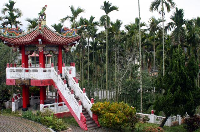 Chrámový park ve Wudeng, Nantou, Tchaj-wan