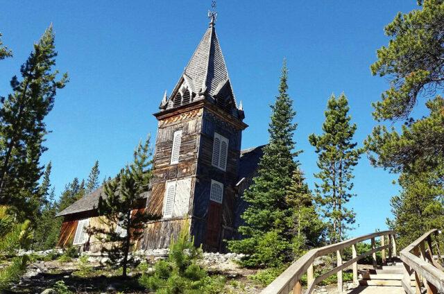 Dřevěný kostel, Aljaška