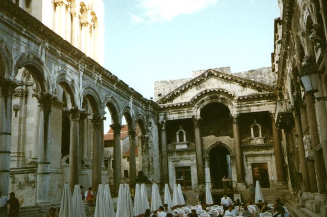 Diokleciánův palác, Split, Chorvatsko
