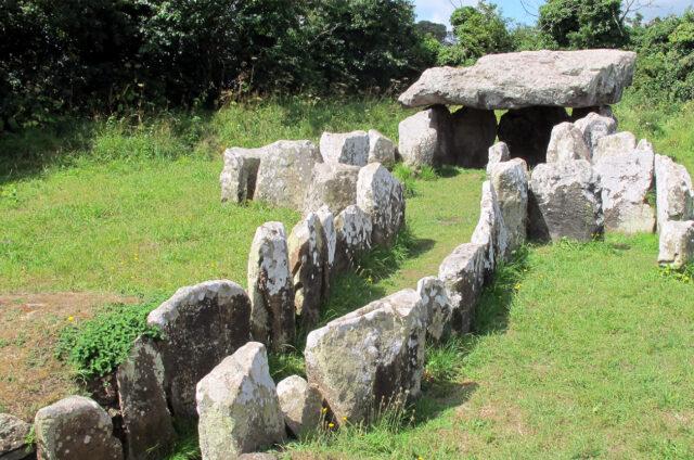 Dolmen de Faldouet, Jersey