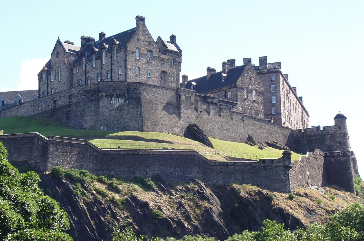 Edinburgh Castle, Edinburgh, Skotsko