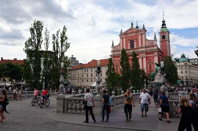 Františkánský kostel, Lublaň, Slovinsko