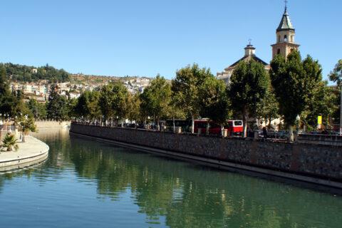 Granada, Andalusie, Španělsko