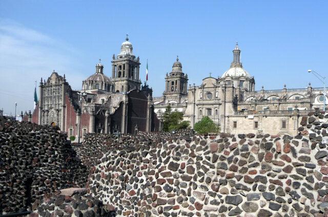 Historická část Mexico City, Mexiko