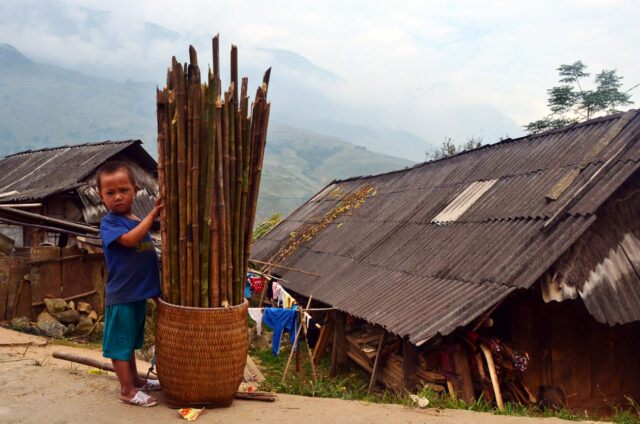 Horské kmeny v Sa-Pa, Vietnam