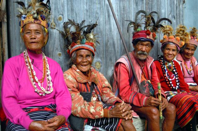 Ifugao - horští lidé rýžových polí, Luzon, Filipíny