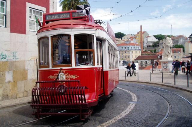 Ikonická tramvaj, Lisabon