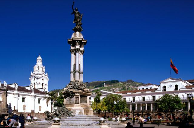 Independence Monument, náměstí, Quito
