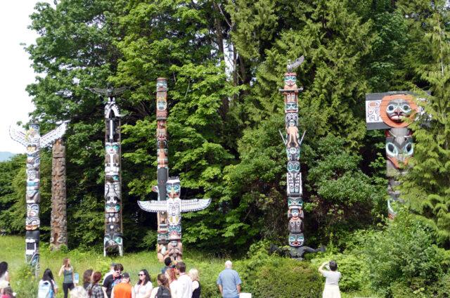Indiánské totemy, Britská Kolumbie