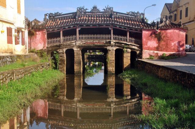 Japonský krytý most, Hoy An, Vietnam