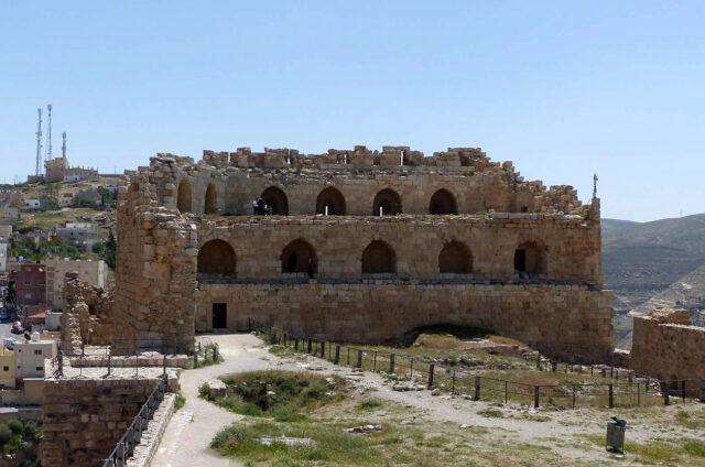 Křižácký hrad Kerak, Jordánsko