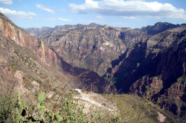 Kaňon Barranca del Cobre, Mexiko