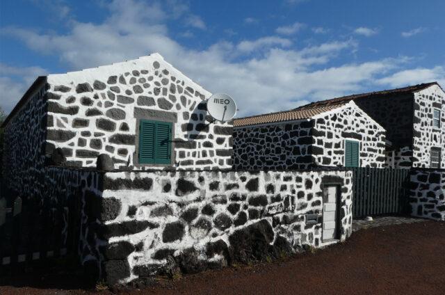 Kamenné domy, ostrov Pico, Azory
