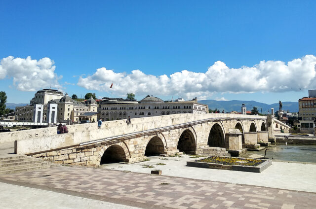 Kamenný most, Skopje, S. Makedonie