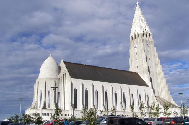 Katedrála Hallgrimskirkja, Reykjavík, Island