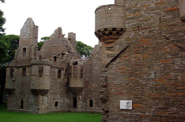 Kirkwall Castle, Orkneye