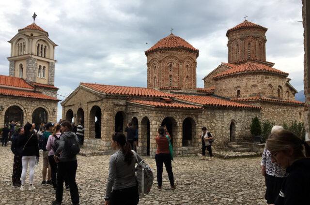 Klášter svatého Nauma, S. Makedonie