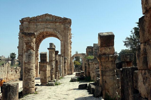 Kolonáda abrána, Týr, Libanon