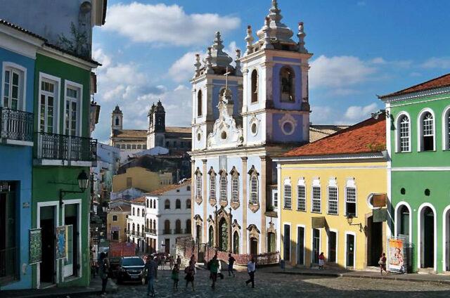Koloniální Salvador da Bahia, Brazílie