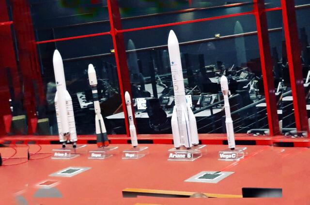 Kosmické centrum s replikou Ariane, Kourou, Guana