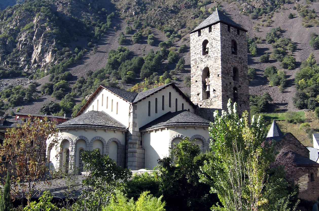 Kostel Sant Esteve, Andorra la Vella, Andorra
