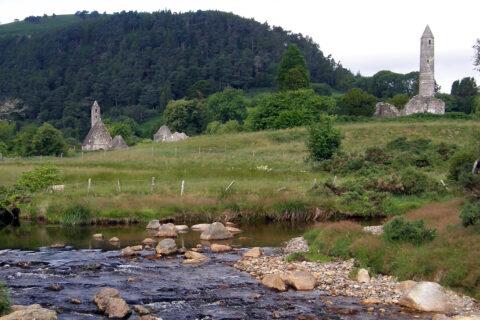 Kostel Svatého Kevina, Glendalough, Irsko