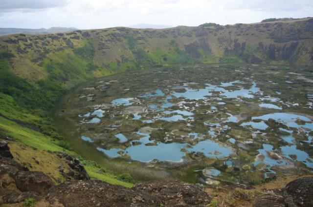 Kráter Rano Kau, Velikonoční ostrov