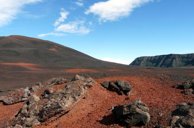 Lávové pole, Reunion