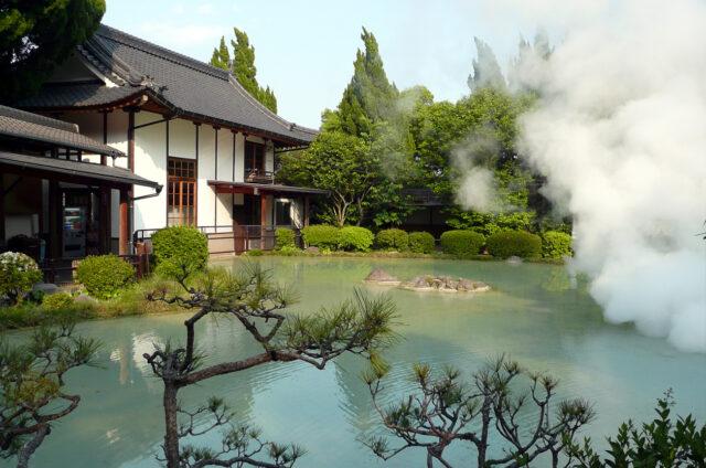 Lázně Beppu, Kjúšú, Japonsko