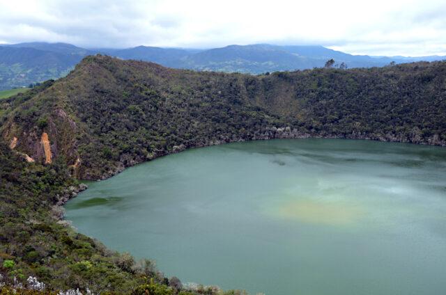 Laguna Guatavita, Kolumbie