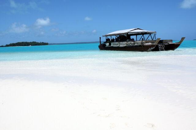 Laguna ostrova Aitutaki, Cookovy o.