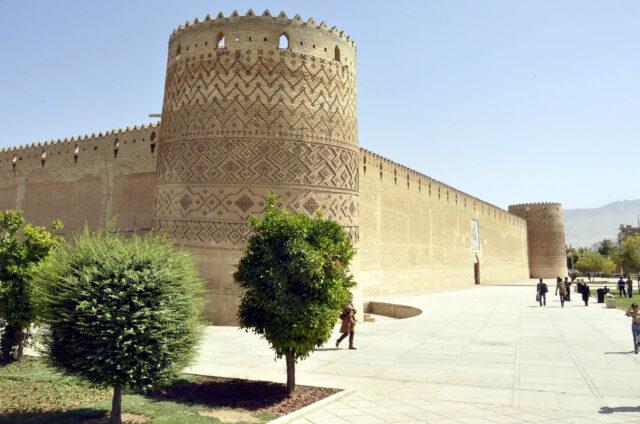 Městská pevnost, Šíráz, Írán