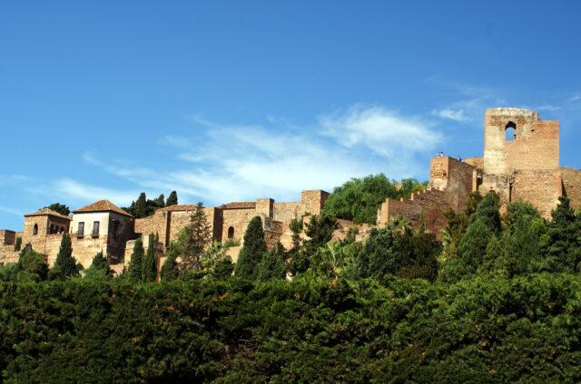 Malaga, Andalusie, Španělsko