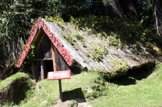 Maorská ves Te Wairoa, Nový Zéland