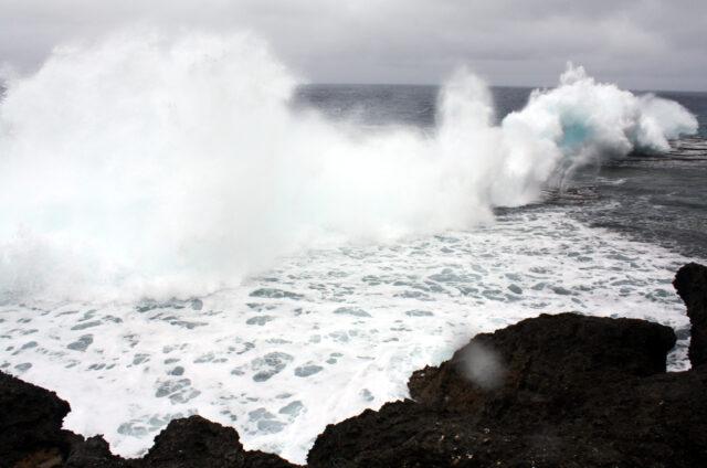 Mapu 'A Vaea Blowholes, Tongatapu, Tonga