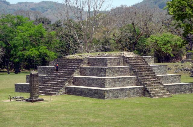 Mayský Copán, Honduras