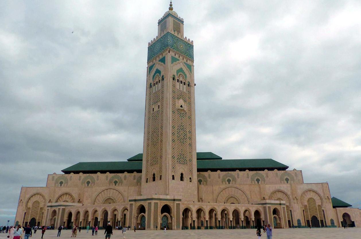 Mešita Hassan II., Casablanca, Maroko