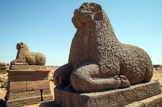 Meroe, zpodobnění Amona, Súdán