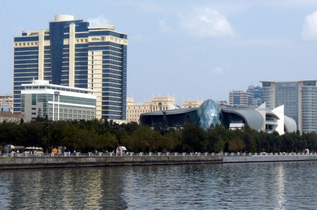 Moderní architektura, Baku, Ázerbajdžán