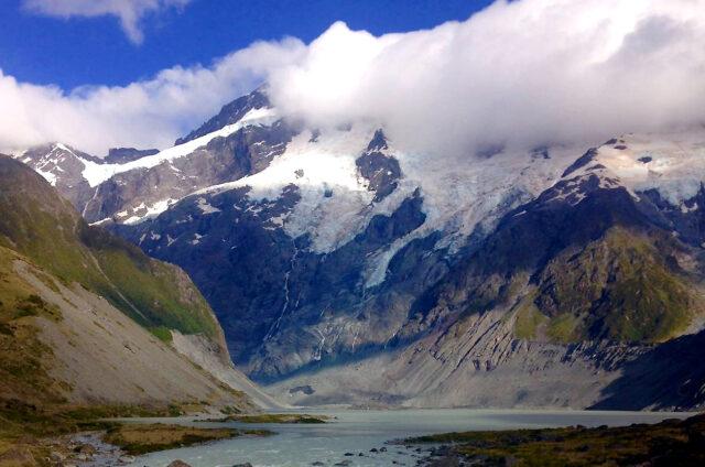 Mount Cook, Jižní ostrov, Nový Zéland