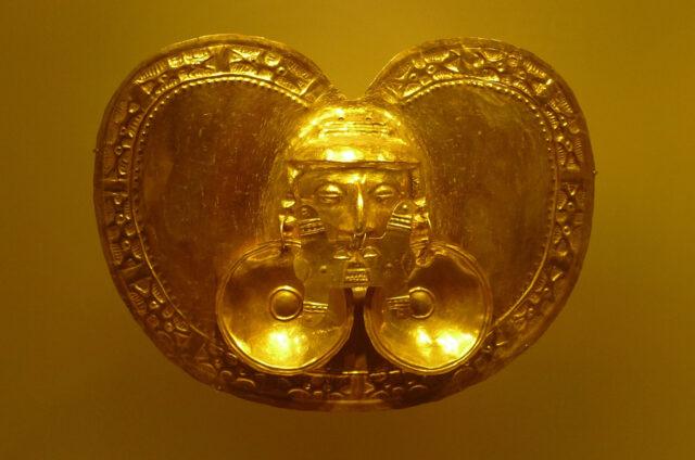 Muzeum zlata, Bogota, Kolumbie