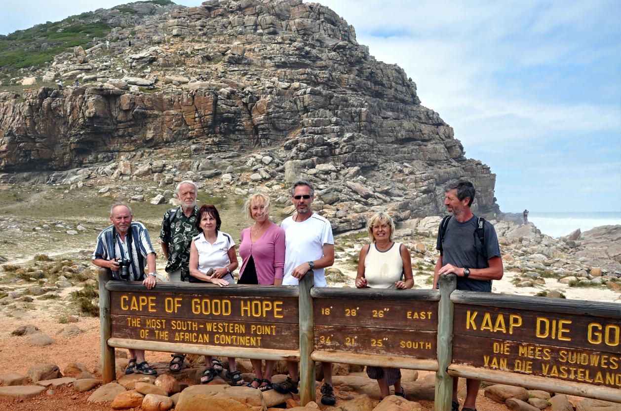 Mys Dobré naděje, Kapské Město, JAR