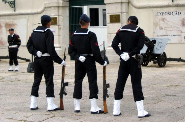 Nácvik stráže, Lisabon