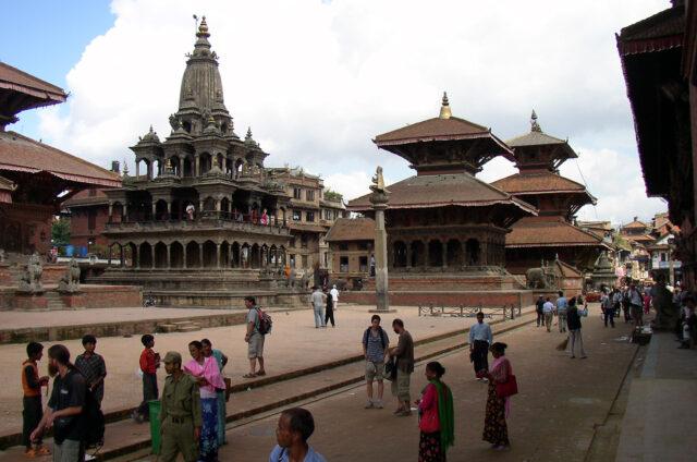 Náměstí Durbar, Káthmándú, Nepál